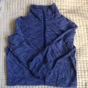 Lululemon 1/2 zip workout jacket